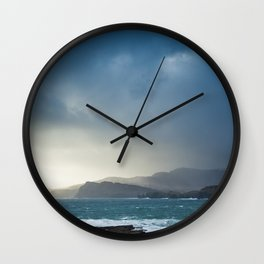 Slieve League during Storm Jake Wall Clock