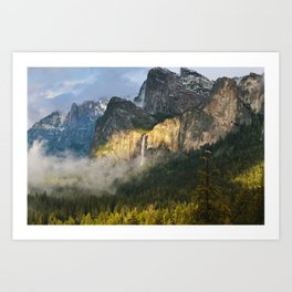 Bridalveil Fall ~ Yosemite National Park  Art Print