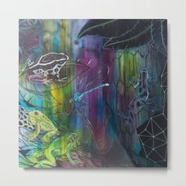 COLOMBIAN JUNGLE Metal Print