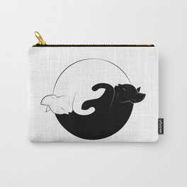ying yang cats Carry-All Pouch