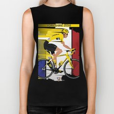 Grand Depart Yorkshire Tour De France  Biker Tank