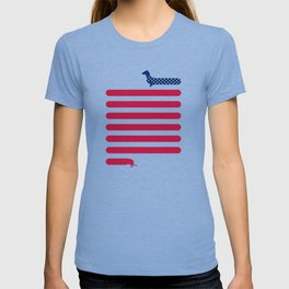 Patriotic Dachshund T-shirt