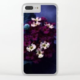 Purples Clear iPhone Case