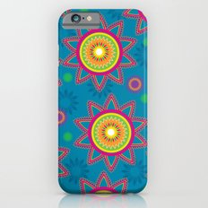 Moroccan Flower Blue iPhone 6s Slim Case