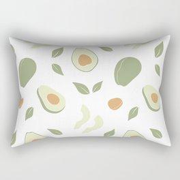 Avocado pattern. Rectangular Pillow