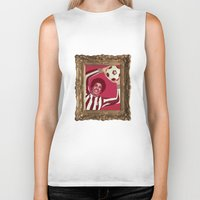 baroque Biker Tanks featuring Baroque Sultan by The Nine Store