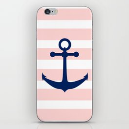 AFE Nautical Navy Ship Anchor iPhone Skin