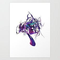 DramaticTree Art Print