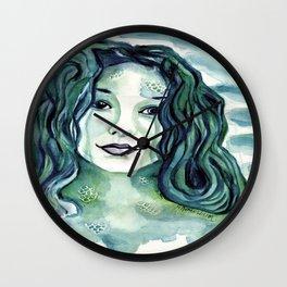 Maybe I'm A Mermaid (Tori Amos inspired art) Wall Clock