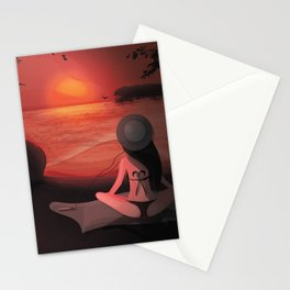 The perfect moment Stationery Cards