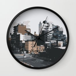 New York City: Chelsea Wall Clock