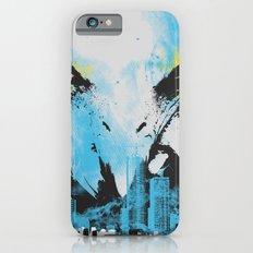 Eagle Eye Watching - Blue iPhone 6s Slim Case