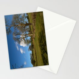 Winter Clouds over the Mendip Hills. Stationery Cards