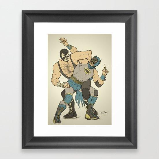 Dark Knight Rises Framed Art Print