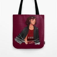 archer Tote Bags featuring Archer by shirley