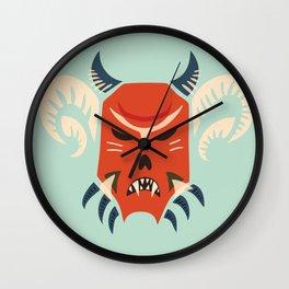 Kuker Evil Monster Mask Wall Clock
