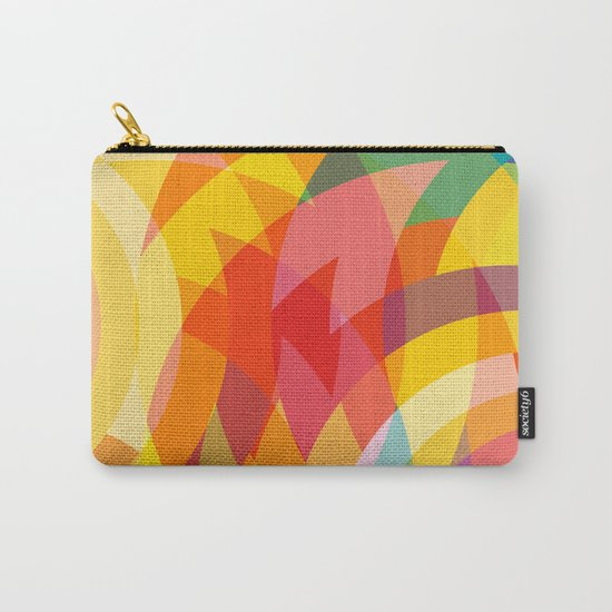 circle colour fields Carry-All Pouch