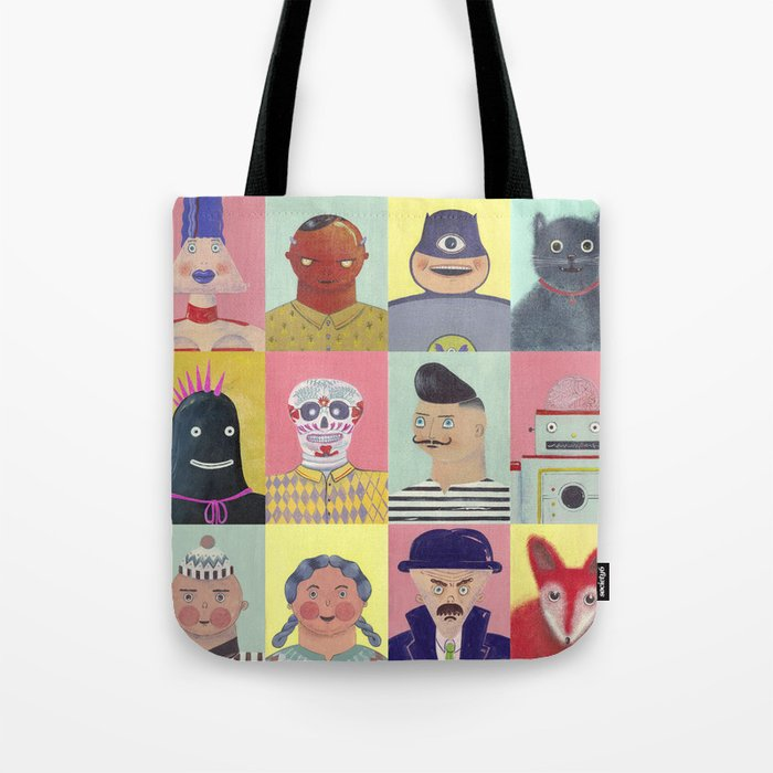 bobbies friends Tote Bag