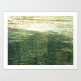 l'eau vive Art Print