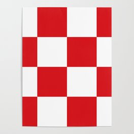 Flag of North Brabant Poster