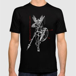 The Valkyrie - Negative T-shirt