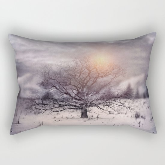 Lone Tree Love II Rectangular Pillow