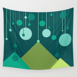Green Mountain Wall Tapestry