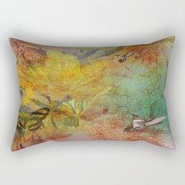 Midsummer in the Garden Rectangular Pillow