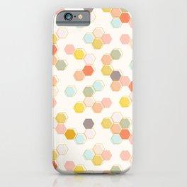Honeycomb - Sweet Cream iPhone Case