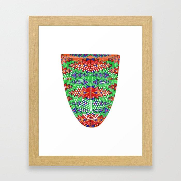 Indian Designs 251 Framed Art Print