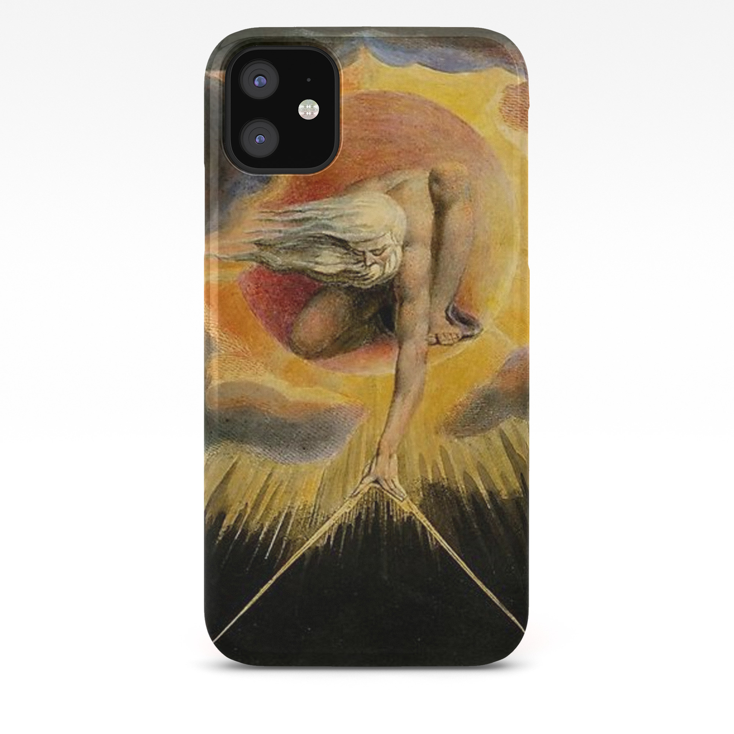 William Blake The Ancient of Days iphone case