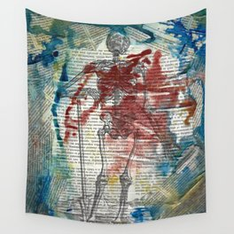 Vesalius Grave digger Wall Tapestry