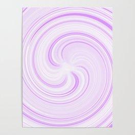 Boysenberry Sundae Swirl Poster