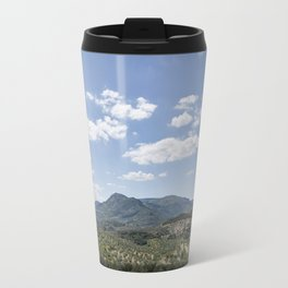 Mountains and Olive Trees Travel Mug