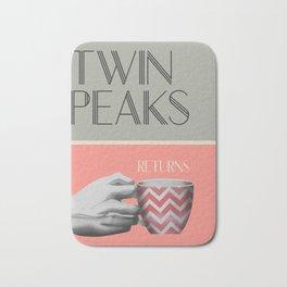 "Set of posters:""TWIN PEAKS"" Bath Mat"