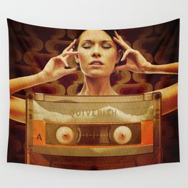 Quiverish Cassette Wall Tapestry