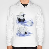 swim Hoodies featuring Swim! by MABurk