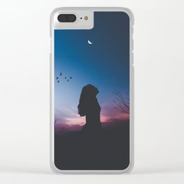 Twighlight Clear iPhone Case