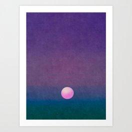 Gradient Sky #1 Art Print