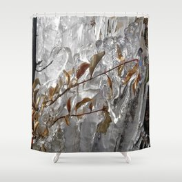 Ice land. Shower Curtain