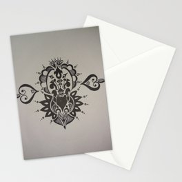 Intricate Indian Design Stationery Cards