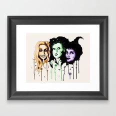 The Sanderson Sisters  Framed Art Print