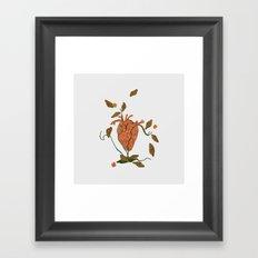 Find My Heart Framed Art Print