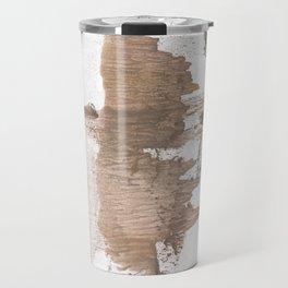 Gray brown Travel Mug