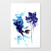 ultraviolence Canvas Prints featuring Ultraviolence by Alexandra-Emily Kokova