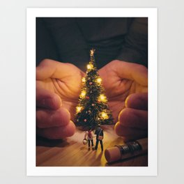 Holiday Spirit Art Print