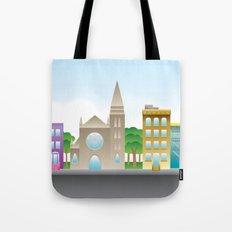 Park Slope Skyline (Color) Tote Bag