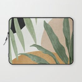 Abstract Art Tropical Leaves 4 Laptop Sleeve