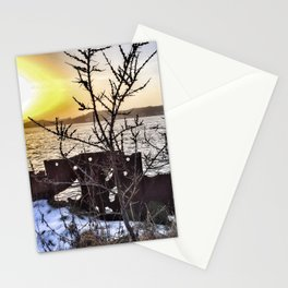 Wave or Particle - Welle oder Teilchen Stationery Cards