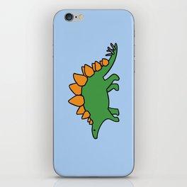 Cute Stegosaurus iPhone Skin
